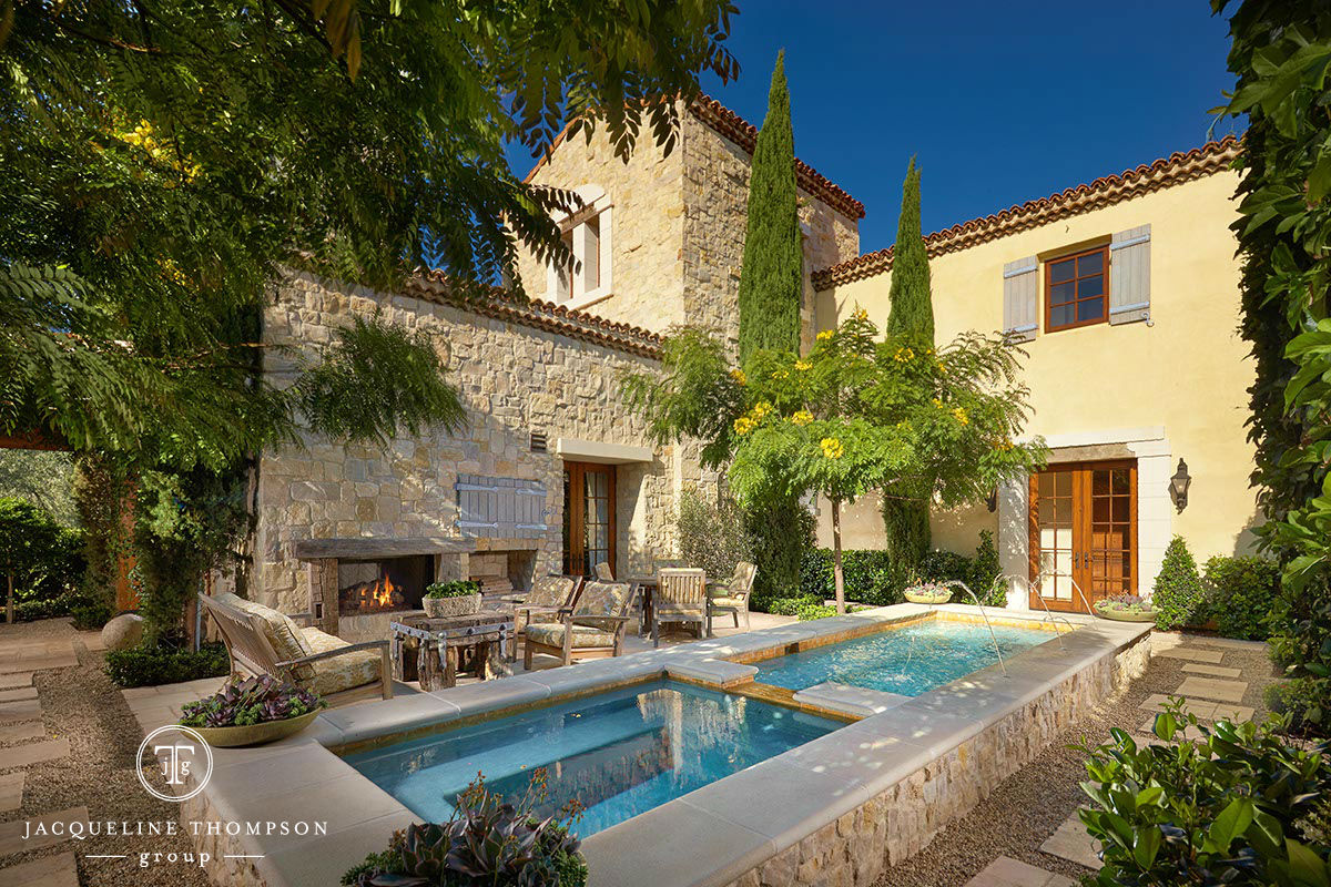 Jacqueline Thompson Sells Incomparable Shady Canyon Estate