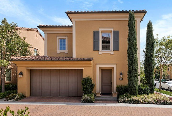 A new home for sale in Orange County, California