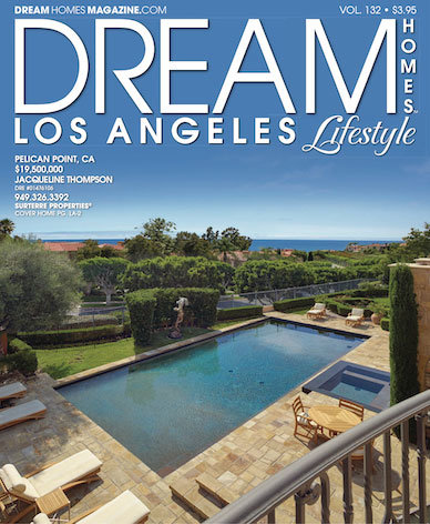 Dream Homes Magazine Los Angeles Issue of 6 Shoreview located in Pelican Point, Newport Beach California.